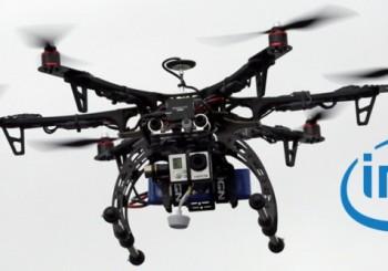 Droni con tecnologia Intel