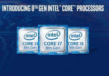 I processori Intel® Core™ di ottava generazione