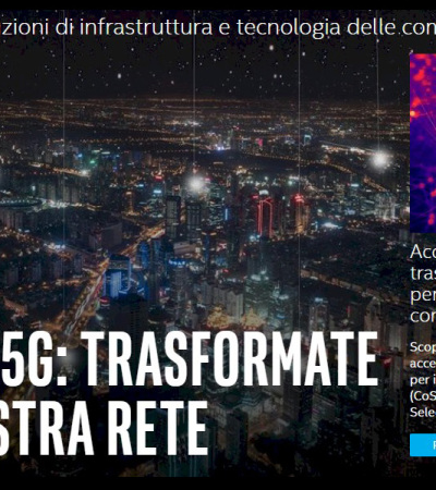 Intel 5G: Rete. Cloud. Client